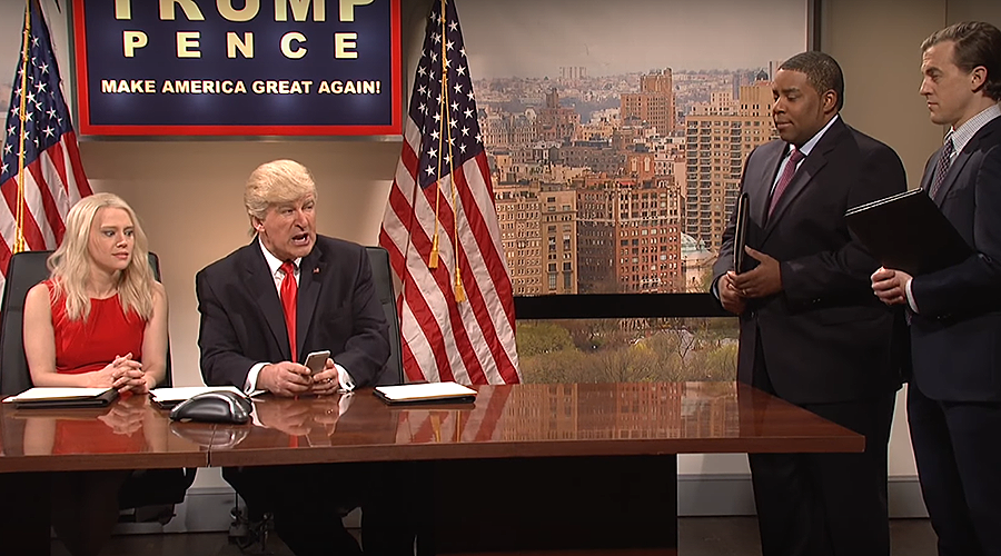'Build that swamp': Trump lashes out at 'unwatchable' Saturday Night Live