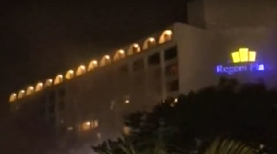 At least 11 killed & 50 injured, including foreigners, in Pakistan hotel fire