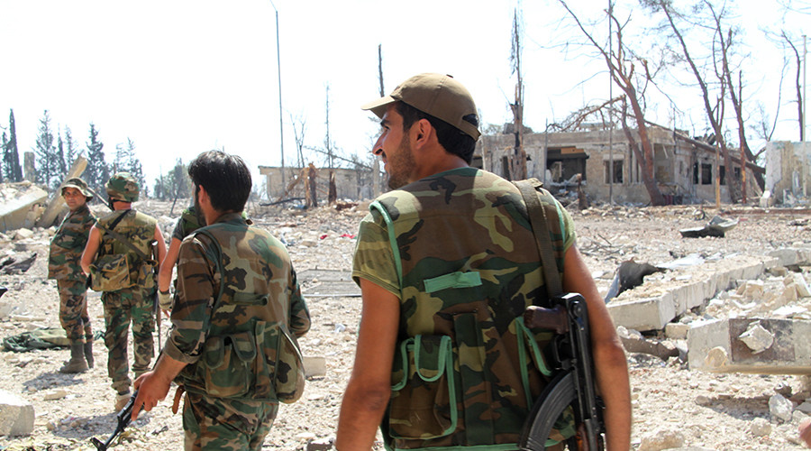 Syrian army liberates more Aleppo districts, seizes militant command center