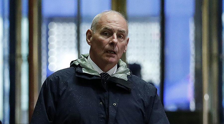 Views of General Kelly: Likely head of Dept. Homeland Security