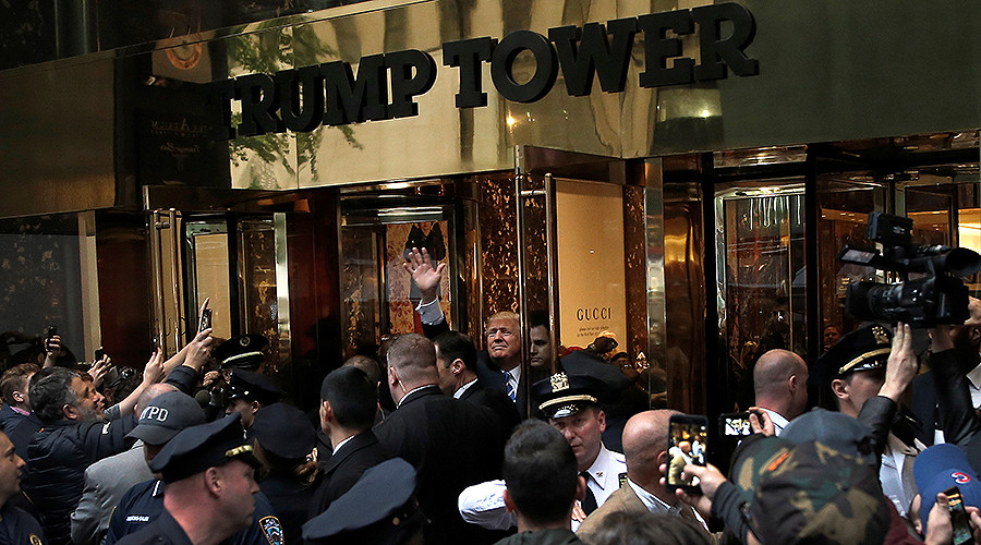 NYC mayor requests $35mn for Trump Tower security, gets $7mn