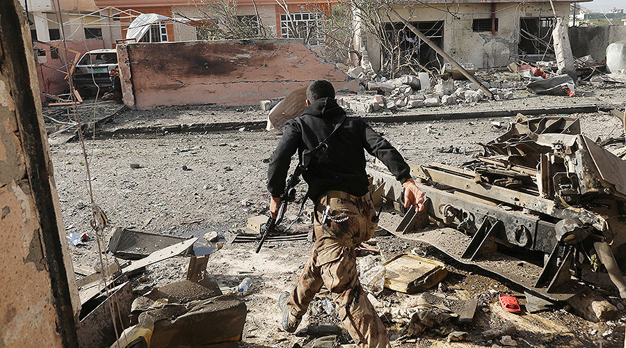 US-led coalition strikes Mosul hospital turned 'ISIS command & control HQ'