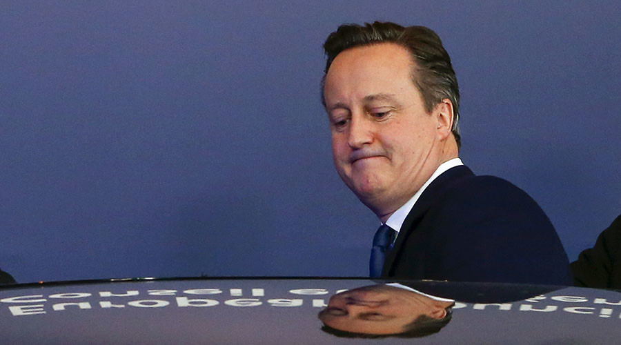 Cameron 'does a Blair': Ex-PM launches firm to cash-in on lucrative speaking tours