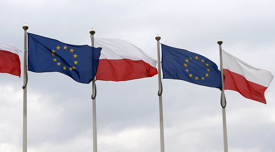EU MPs debate stripping Poland of voting rights after new law restricts public meetings
