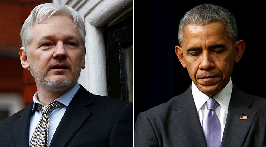 WikiLeaks calls on Obama to submit proof of Russian hacking for verification