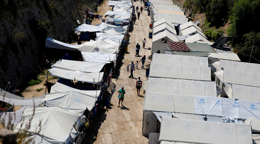 Refugee sentenced to 5 years in jail for beating 3yo son at Greek camp