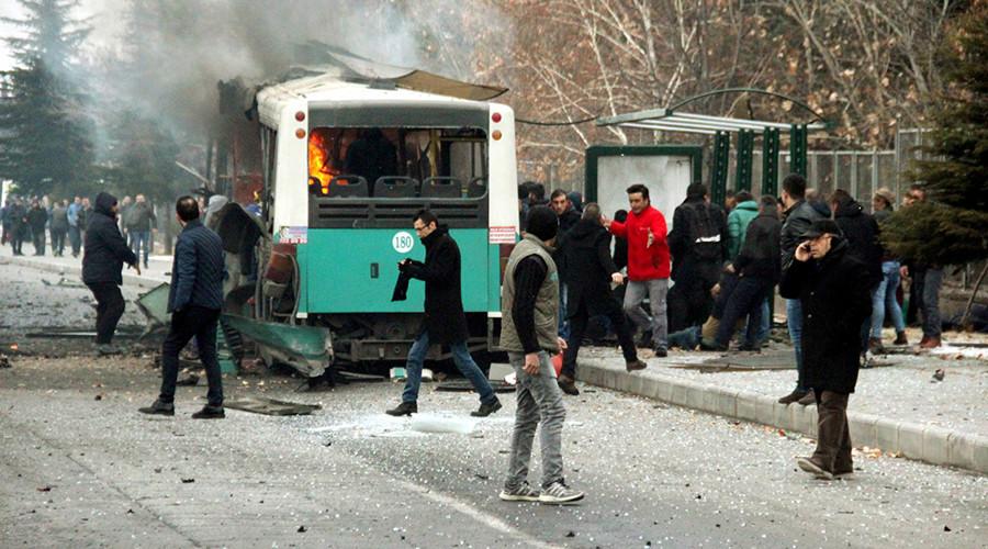 Bus blast in Turkey kills 13, wounds 55 – military