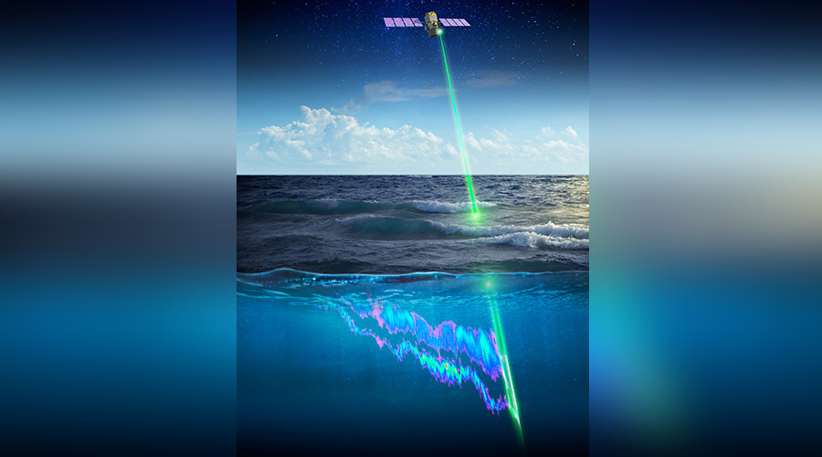 NASA 'space laser' detects eco-disaster in ocean