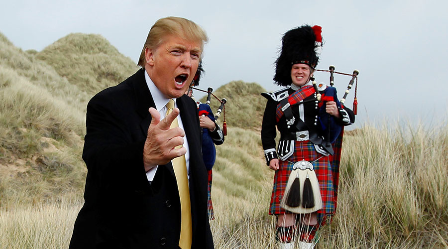Trump threatens Scottish minister over windfarms in newly-released letters
