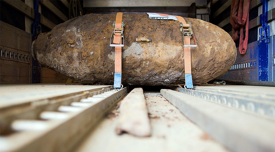 Unexploded WWII bomb found at construction site in Hong Kong