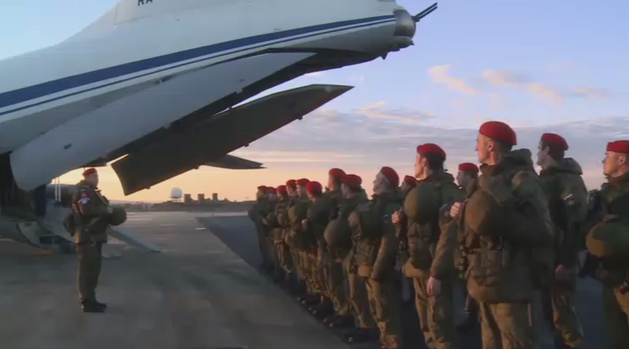Russian military police in Aleppo to provide aid and protect humanitarian staff (VIDEO)