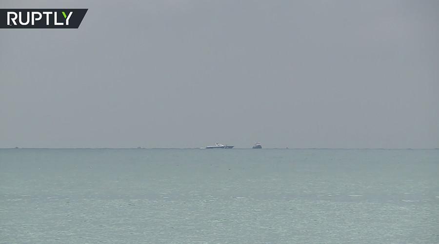 Russian Tu-154 plane crash: First VIDEO of search in Black Sea