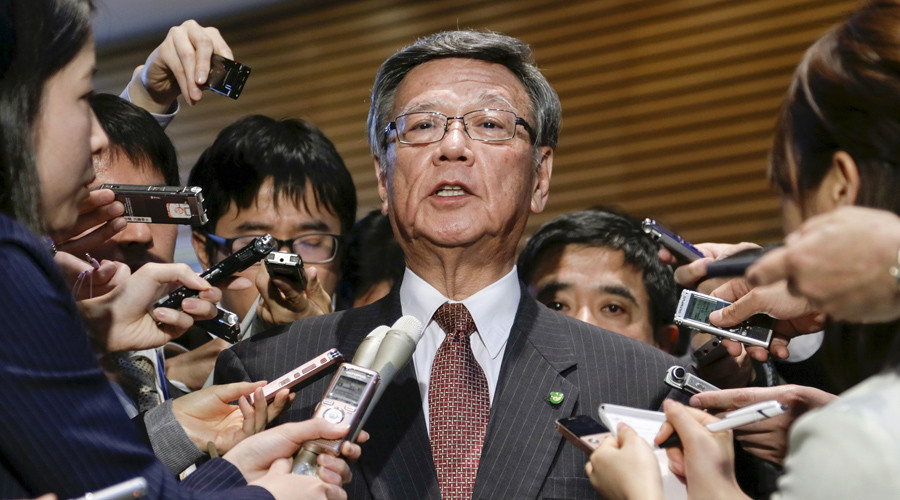 Okinawa governor rescinds action against US base relocation – report
