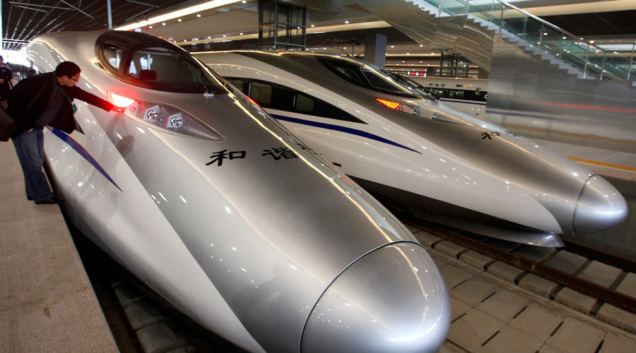 China connects east & west with longest bullet train line