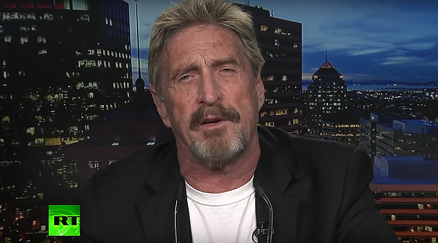 'We live in a new world of sophisticated hacking & cryptojacking' – McAfee to RT