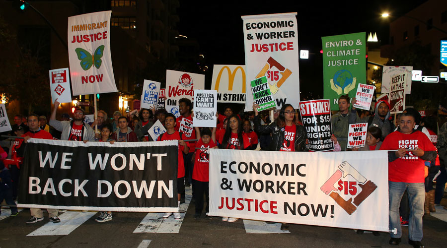 Minimum wage rises in 19 states & DC, but only some win fight for $15/hour