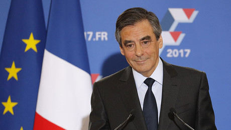 Francois Fillon, former French prime minister and member of Les Republicains political party. ©Philippe Wojazer
