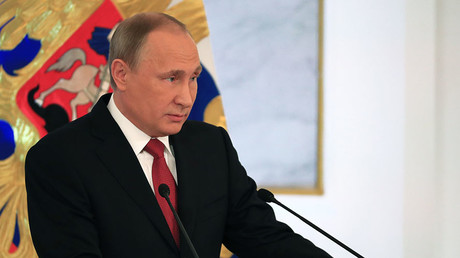 Putin: We won't allow infringement of Russia's rights, will decide our own fate