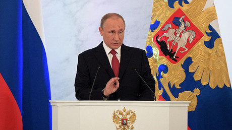'We've never sought enemies, we need friends': Top quotes from Putin's annual address