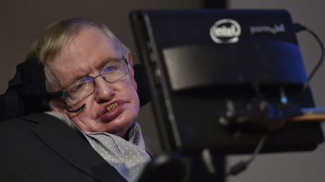 British scientist and theoretical physicist Stephen Hawking. © Toby Melville