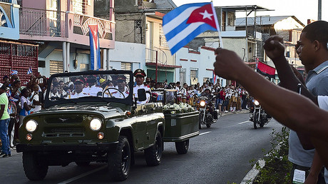 'Viva Fidel!' Castro's ashes interred in Cuban city of Santiago (PHOTOS)
