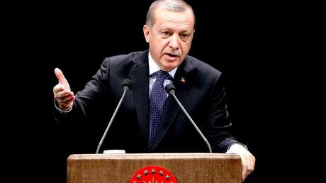 Turkish President Recep Tayyip Erdogan © Adem Altan