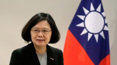 Taiwan's President Tsai Ing-wen. ©Jorge Adorno