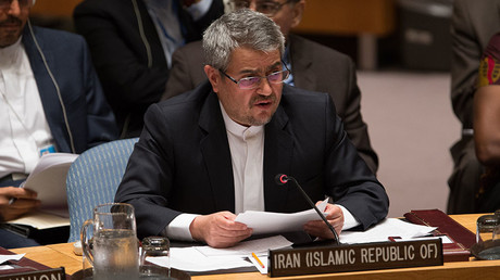 Iran takes fight to UN in strongly-worded letter as US extends sanctions