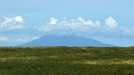 The Mendeleev Volcano on the Kunashir Island of the Greater Kuril Ridge. © Ekaterina Chesnokova