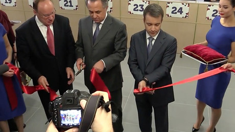 1st FIFA World Cup Russia 2018 fan passport center opens in St. Petersburg