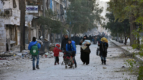 Syrian Army retakes 70% of E. Aleppo, evacuates over 1,200 civilians – Russian military