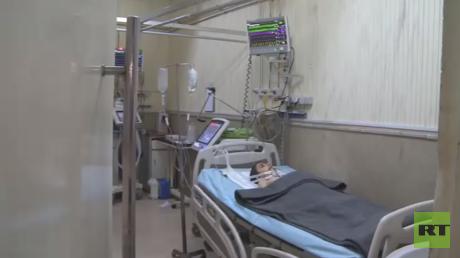 Al-Razi hospital, Aleppo, Syria © RT