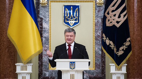 Ukraine's Poroshenko threatens to 'sue UK media' over corruption reports – journalist