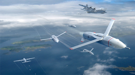 DARPA aims for simple way to control swarm of attack drones