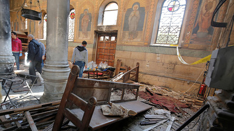 Blast hits near Christian cathedral in Cairo, 25 killed, 49 wounded