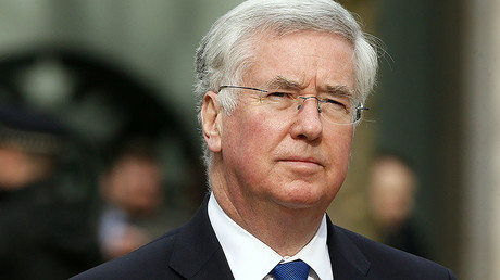 Britain's Defence Secretary Michael Fallon © Stefan Wermuth
