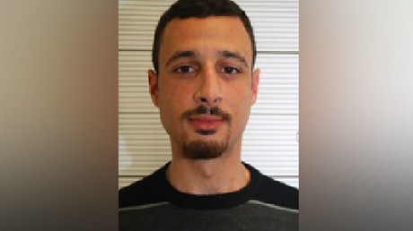 An undated handout picture released by West Midlands police on December 6, 2016 shows Belgian national Zakaria Boufassil who was convicted today of giving money to Brussels and Paris terror attacks suspect Mohamed Abrini. © West Midlands Police