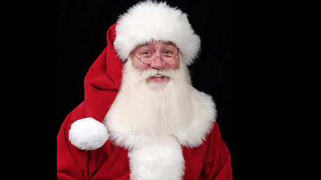 Santa's burqa? Austrian police make St Nicholas remove full-face beard
