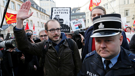 Dozens rally in support of Luxleaks whistleblowers as they appeal conviction