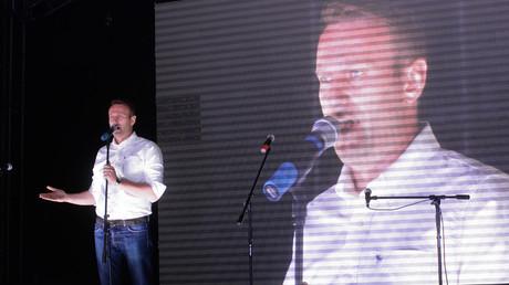 Opposition leader Alexei Navalny © Iliya Pitalev