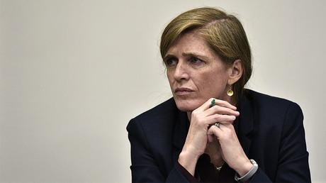 United States Ambassador to the United Nations Samantha Power © Mandel Ngan