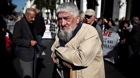 Eurozone suspends Greek debt relief over Christmas bonus for pensioners