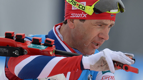 Russian biathletes 'all clean until proven guilty,' says 8-time Olympic champ Bjorndalen