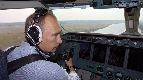 Revealed! Putin personally hacked DNC from surveillance aircraft with bear on board
