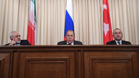 Russia-Iran-Turkey alliance most effective in solving Syrian crisis – Lavrov