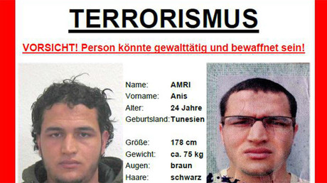 German police released photos of the Berlin market attack suspect, 24-year-old Tunisian Anis Amri.  © bka.de