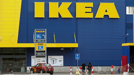 'Taking the piss': Internet erupts after Ikea asks pregnant women to pee on crib ad