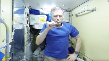 RT Space 360: This is what your morning routine looks like on the ISS