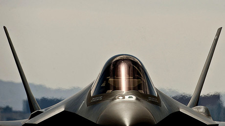 The fourth U.S. Air Force F-35A Lightning II © Daniel Hughes / U.S. Air Force / Handout via Reuter
