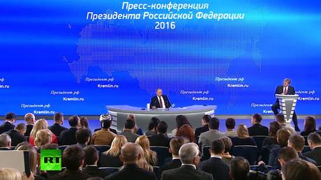 Putin's Q&A with media 2016